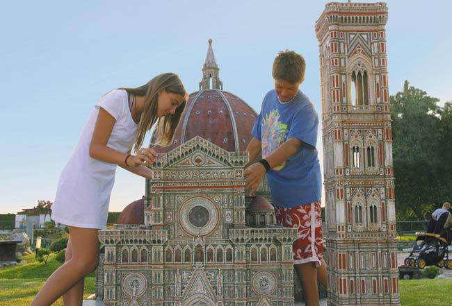 Hotel per famiglie vicino a Italia in Miniatura